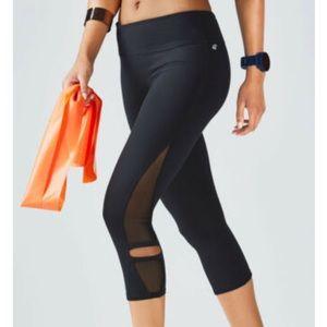 FABLETICS Black Debra Capri Leggings